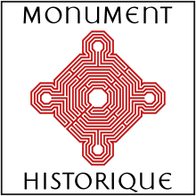 220px-Logo_monument_historique_-_rouge_ombré,_encadré