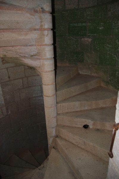 Escalier-guette
